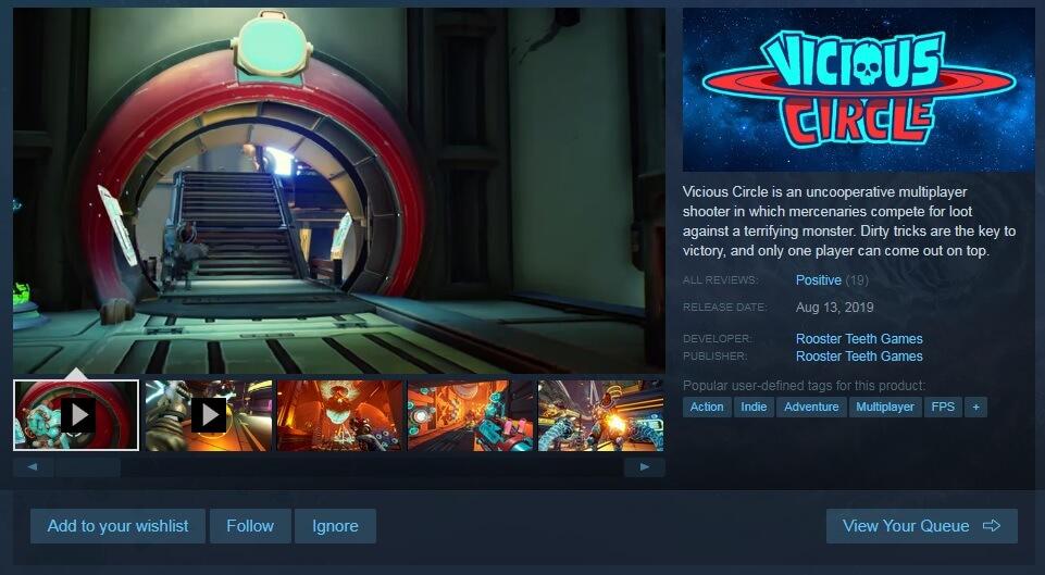 """Steam 商店的""""添加至愿望单""""和""""关注""""按钮"""