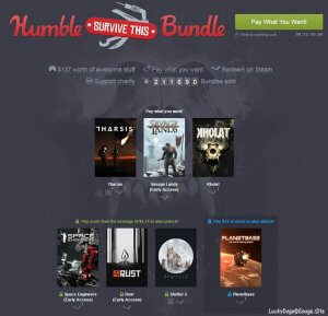 Humble Survive This Bundle 慈善包